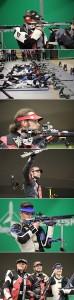 II Европейские игры. Финал, 50 и, малокалиберная винтовка, стрельба из 3 положений