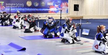 ECH 2019 50m Rifle 3 position, women. Final